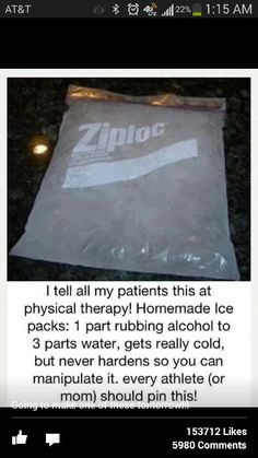 Medical Life Hack ~ How to make an ice pack. (Now with 20% more savings and 3.14159% more rhyming!)