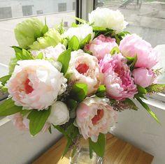 high quality peony,Bridal Bouquet,wedding party table centerpiece,Christmas home decoration silk artificial flower arrangement $82.00