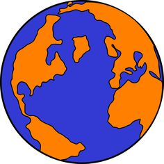 Globe Earth Planet Continents