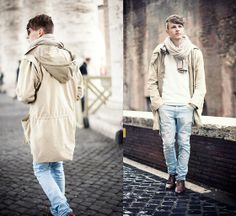 Going on #Levis #501 (by Gabriel W.) http://lookbook.nu/look/4772733-Zara-Leather-Shoes-Going-On