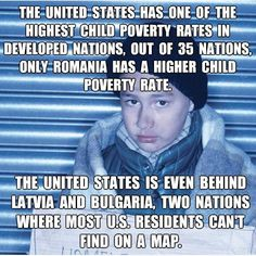 For a country as great as we are to have so many hungry, homeless people is without excuse. How much has been spent on the mid-term elections? How much is spent everyday in Afganistan, Syria and Iraq? Our priorities are dead wrong.