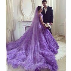 #Amazing beauty! #Beautiful dress! #Purple long dress!