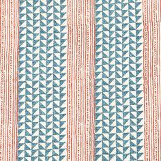 Another Carolina Irving--I think I have found a new love! Carolina Irving Textiles Aegean Terracotta