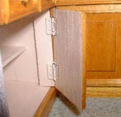 how to: hinged doors