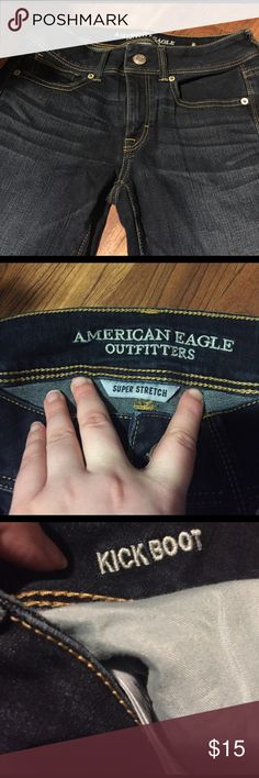 🆕WEEKEND ONLY SALE American Jeans size 6 Short New Jeans from American Eagle Size 6 short !!!! They are kick boot style ! Never worn ! No tags American Eagle Outfitters Jeans Boot Cut