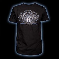 Jack White Peacock T-Shirt