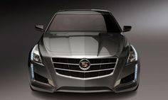 2014 Cadillac CTS front view