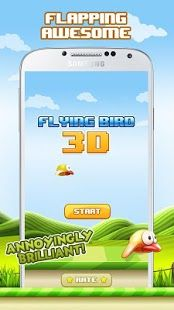 Looking for New Flappy Bird? Try now https://play.google.com/store/apps/details?id=com.appdevs.flyingbird3d