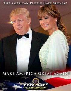 President Donald Trump and First Lady Melania Trump Donald Und Melania Trump, Donald Trump, John Trump, Trump Is My President, Trump One, First Lady Melania Trump, Trump Melania, John 3 16, Guy Debord