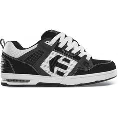 Etnies Kontra Shoes in Black with White & Grey. £79.99 at Urban Surfer with Free UK delivery.