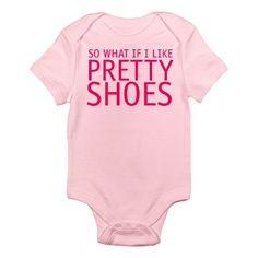 Shoe Lovers Infant Onesie