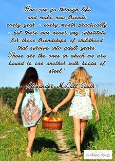 Karla shares an inspiring story of friendship. Check out Karla's Korner: Childhood Friends….An Unbreakable Bond