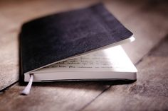 Always, always carry a notebook.