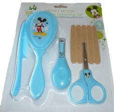 Bathing & Grooming New Sealed Disney Baby Minnie Mouse Health And Grooming Kit