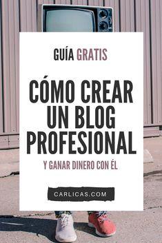 CÓMO CREAR UN BLOG Y GANAR DINERO CON ÉL. Todos lo mencionan, pero nadie explica cómo.#empezarunblog #blog #emprendimiento #emprendimientoideas #emprendimientofemenino #comohacerunblog #blogprincipiantes #blogconsejos
