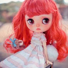 #Blythe #Blythedoll #customBlythe #noisedoll #Blythecustom #doll#middieBlythe