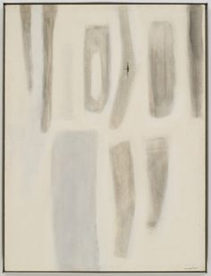 "oil on canvas, 48"" x 36"" (121.9 cm x 91.4 cm), © 1955-56 Agnes Martin /Artists Rights Society (ARS), New York / G. R. Christmas"