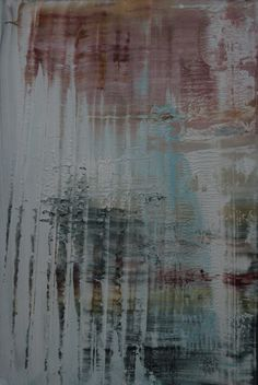 "Koen Lybaert; Oil, 2013, Painting ""abstract N° 517 - SOLD [Belgium]"""