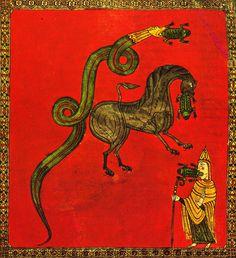 Osma Beatus. The Frogs. 1086.