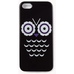 Owl Obsessed Phone Case ($4.99) ❤ liked on Polyvore featuring accessories, tech accessories, phone cases, phones, iphone, cases and forever 21