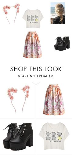 """be different"" by deerodri on Polyvore featuring New Look, Chicwish and wecandoit"