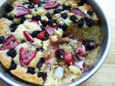 I have made this Blackberry Strawberry Cobbler, and oh, my is it delish. eat it a la mode!