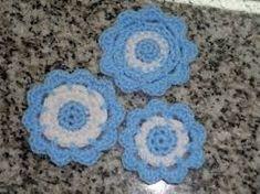 Resultado de imagen para escarapelas tejidas al crochet patrones