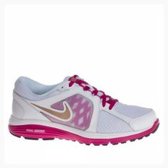 huge selection of bcbd2 ee213 nike womens dual fusion run breathe running trainers 525752 sneakers shoes  (US white metallic red bronze spirit fuchsia ( Partner Link)