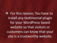 5 Best Testimonial Plugins for WordPress - GSAmdani.com