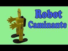 Cómo Hacer un Robot Caminante en Dos Patas (Muy fácil de hacer) - YouTube