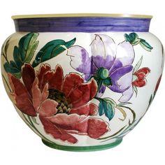 Lampas Or - Grand cachepot Fontainebleau - Lart de décorer - Gien Prestige - Collections