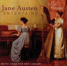 CD - Jane Austen Entertains - Her Music    'Aunt Jane began her day with music ... much that she played from was manuscript, copied out by herself.' This CD is derived from these very manuscripts, allowing you to listen to what Jane Austen would have played and enjoyed.