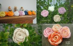 cover free crochet pattern roses