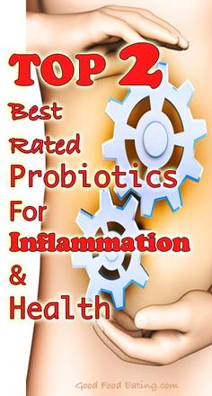 Did you know the health of our digestive tract can affect everything? But not all probiotics are created the same. Find out the TOP 2 best rated probiotics for inflammation and health.