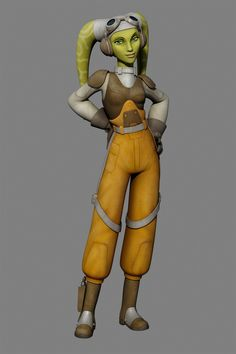 Hera from Star Wars Rebels  Nice to see a female character get a leading role in Star Wars.