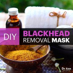 Blackhead removal mask - Dr. Axe