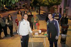 La Crónica del Alto Guadalquivir: Colas en Pedro Abad para comprar castañas asadas a...