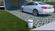 Permeable pavers on Behance
