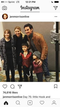 They're so cute!!! I hope Captain Swan has a baby in the end of season 6 or in season 7 (if there is a season 7, i don't want ouat to end)