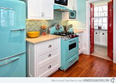 15 Wonderfully Made Vintage Kitchen Designs | Home Design Lover