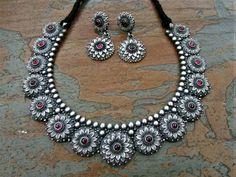 Funky Jewelry, Tribal Jewelry, Copper Jewelry, Unique Jewelry, Silver Jewellery Indian, Silver Bangles, Terracotta Jewellery, Oxidised Jewellery, Personalized Jewelry