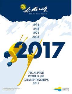 Moritz FIS Alpine World Ski Championships 2017 Ski Vintage, Vintage Ski Posters, Photo Vintage, Vintage Florida, Vintage Hawaii, Alpine Skiing, Snow Skiing, The New Yorker, World Cup Skiing