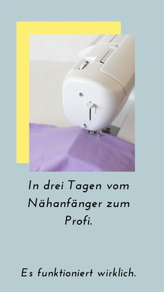 Nähen lernen - DER ultimative Online Nähkurs The best sewing course if you want to learn to sew. Learn to sew, easy Beginner Sewing Patterns, Sewing Basics, Sewing For Beginners, Sewing Hacks, Sewing Tutorials, Sewing Projects, Sewing Class, Sewing Tools, Date Photo
