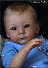 "NEW RELEASE ❀Bluebonnet Babies❀ REBORN Baby Boy ""MATHIS""⚡Sold Out⚡ Gudrun Legler"