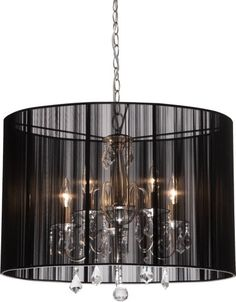 Best Bathroom Light Fixtures | Artcraft Lighting Claremont 5Light Mini Chandelier Polished Nickel with Silk String Shades >>> Check out the image by visiting the link. Note:It is Affiliate Link to Amazon.