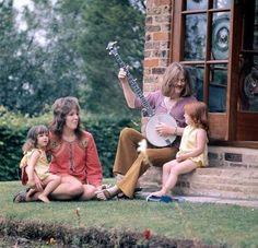 John Paul Jones & family
