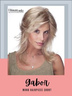 By simply clipping this hair addition to the crown of your head you can blend and style it with your own hair. #hairstyles #hairdo #hairoftheday #styleinspo #styles #styleoftheday Gabor Wigs, The Crown, Synthetic Hair, Hair Pieces, Hair Lengths, Hairstyles, Haircuts, Extensions Hair, Hairdos