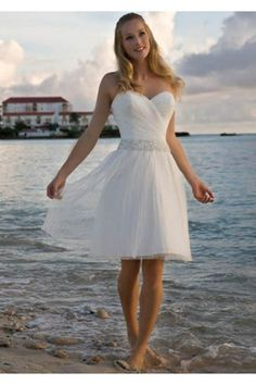 Casual Destination Beach Wedding Dresses/Bridal Dress weddingdresses00094 - Weddingdressgood.com