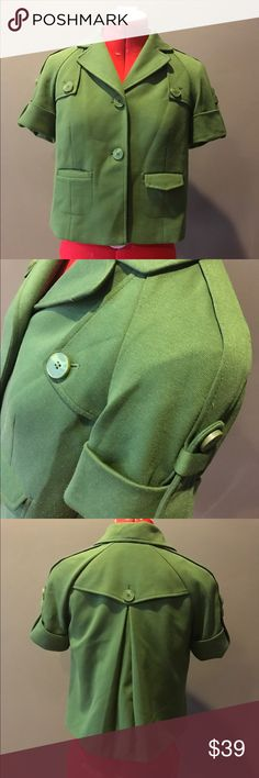Army Green Ann Taylor Loft Jacket Army Green Ann Taylor Loft Jacket!!! Super Cute Ann Taylor Jackets & Coats Blazers