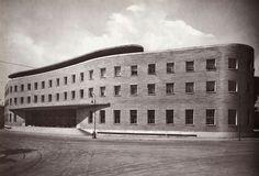 IT, Roma, Post Office @Piazza Bologna. Architects Mario Ridolfi and Mario Fagiolo, 1933.